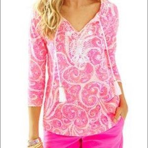 Lilly Pulitzer Holly Top